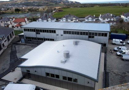 Holyhead High School: Holyhead | Wynne Construction