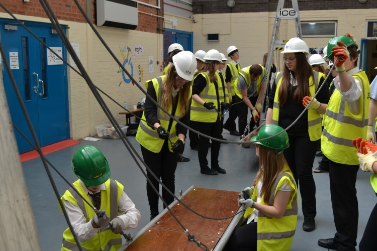 CITB ICE Bridge Event at Connah's Quay High School