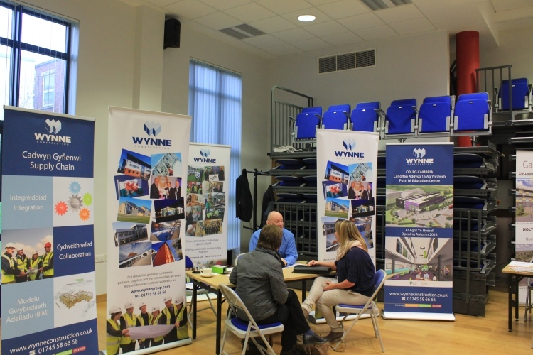 Meet the Buyer Event @ Coleg Cambria - December 2014