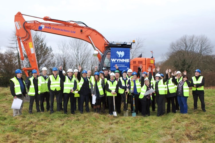 Turf Cutting Ceremony - February 2015