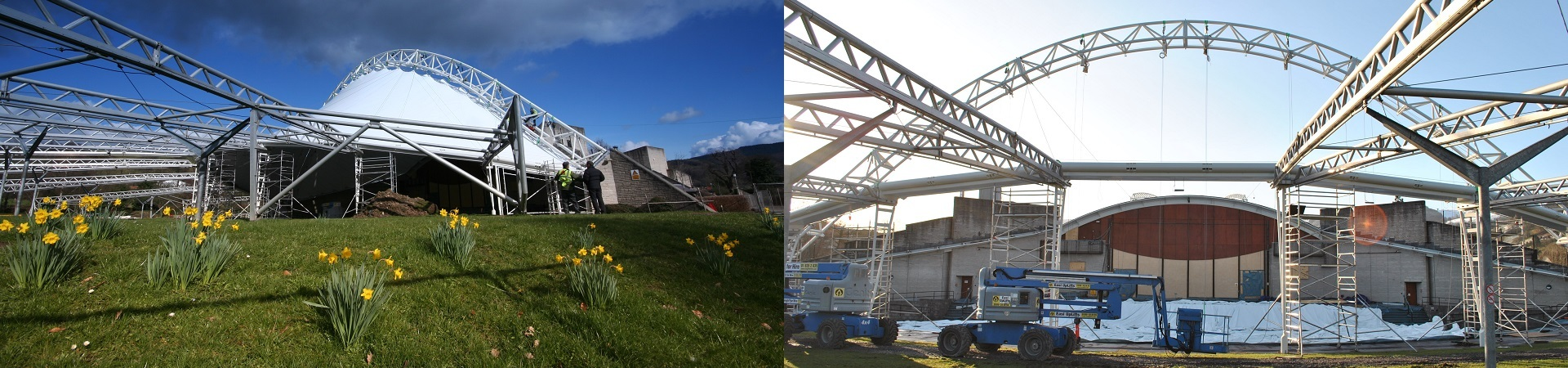 Royal International Pavilion: Llangollen | Wynne Construction