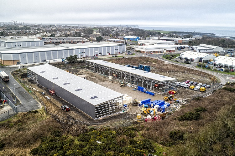 Penrhos Business Units: Holyhead | Wynne Construction