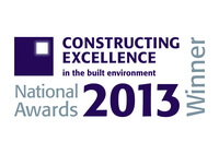 National Awards 2013 Constructing Excellence Winner