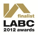 LABC (Local Authority Building Control) Warranty finalist 2012