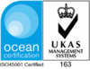 Ocean Certification - ISO45001 Certified - UKAS Management Systems