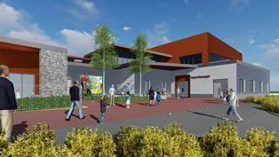 Important step forward for new Ysgol Glancegin