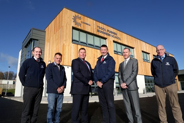 Wynne celebrates completion of new Business School for leading college