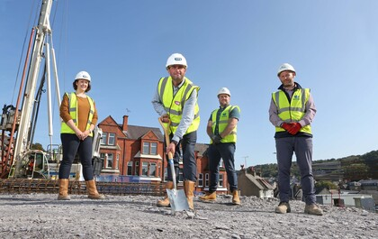 Work begins on £5.3m housing project in Bangor