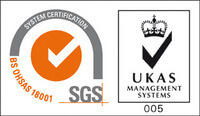 UKAS Management Systems - BS OHSAS 18001:2007 - Occupational Health and Safety Management
