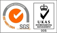 UKAS Management Systems - ISO 14001:2004 - Environmental Management