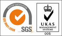 UKAS Management Systems - ISO 9001:2008 - Quality Management