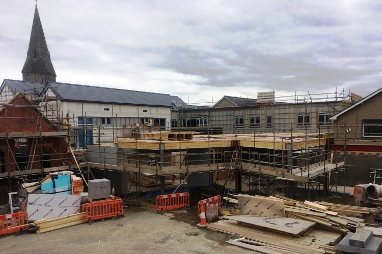 June 2017 - New school extension