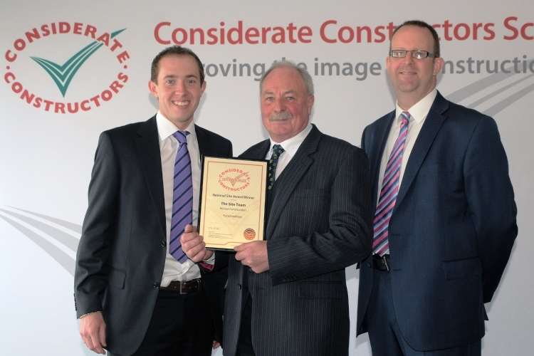 Considerate Constructors Bronze Award Ceremony