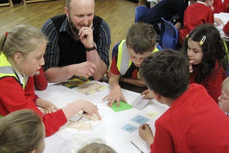 Design consultation workshops with the pupils of Ysgol Penyffordd