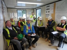 Site Visit from Coleg Meirion-Dwyfor