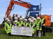 Work underway at new site for Ysgol Carreg Emlyn