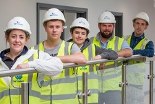 Trio of students paint themselves in glory and land jobs with North Wales firm