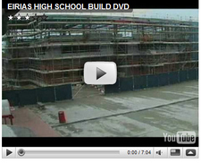 Eirias High School Construction on video