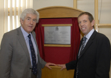 Rhodri Morgan officially opens Flintshire Specialist Schools