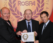 RoSPA GOLD Award for the 4th Year