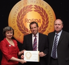 WINNER - RoSPA 2008 Occupational Health & Safety Award