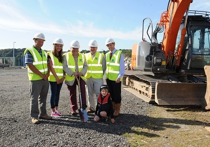Work starts on the National Sailing Academy in Pwllheli