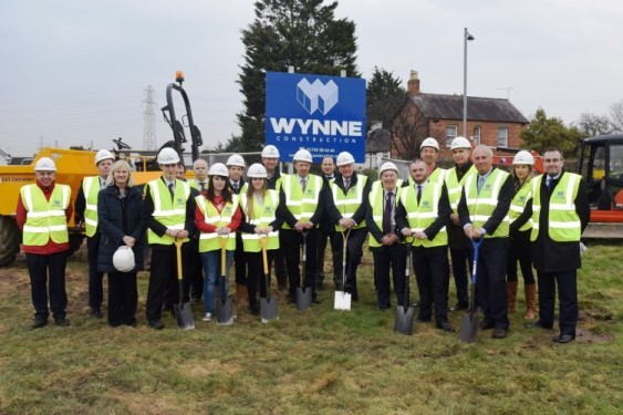 Post 16 Education Centre - Turf Cutting