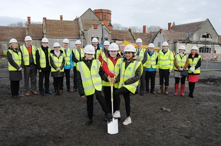 Work begins on new Ysgol Cybi Primary School