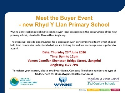 Meet the Buyer - Llangefni, Anglesey