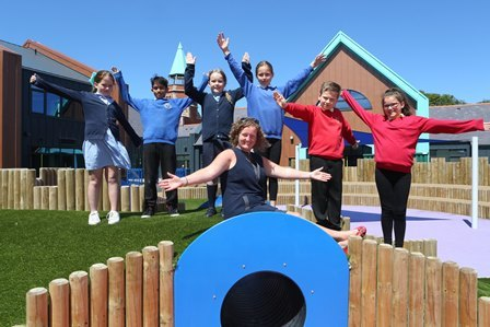 New start for pupils at Ysgol Cybi