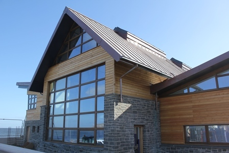 RNLI Lifeboat station nears completion