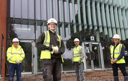Apprenticeship joy for Isaac Kemp after work experience success